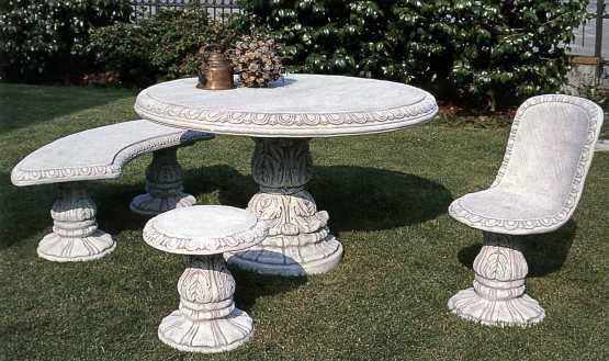 Prodotti for Arredo giardino in cemento